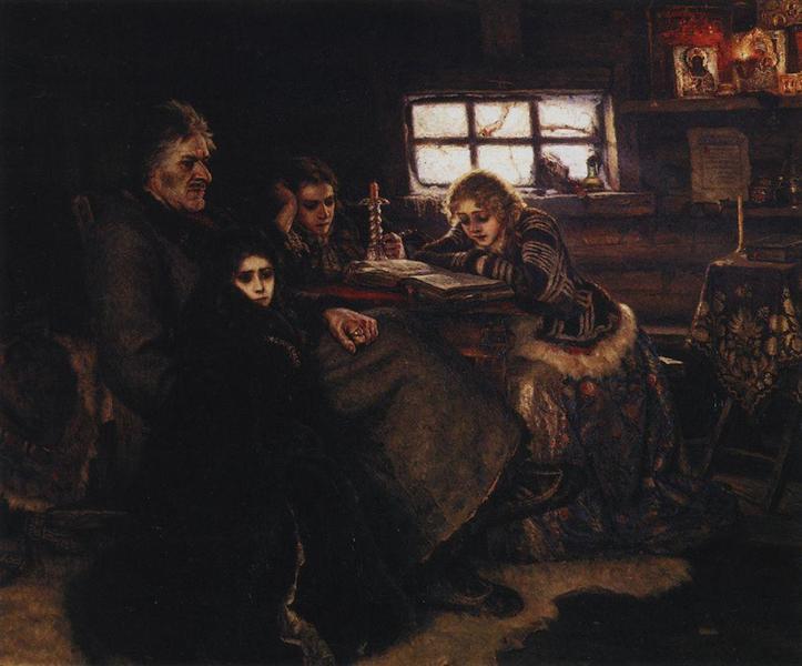Меншиков в Березове, 1883 - Василий Суриков
