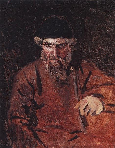 Strelets, c.1880 - Vasily Surikov