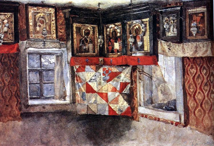 Village Altarpiece, c.1885 - Vasily Surikov