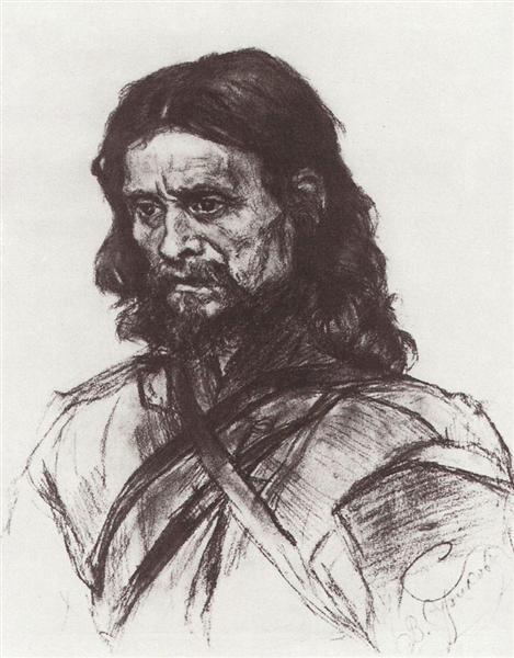 Wanderer, c.1886 - Vasily Surikov