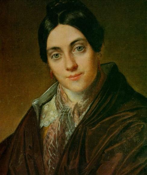 Portrait L.K. Makovsky, 1830 - Vasily Tropinin