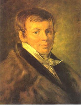 Portrait of V.S. Eneva, 1810 - Vasily Tropinin