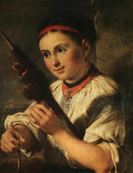 Spinner - Vasili Tropinin