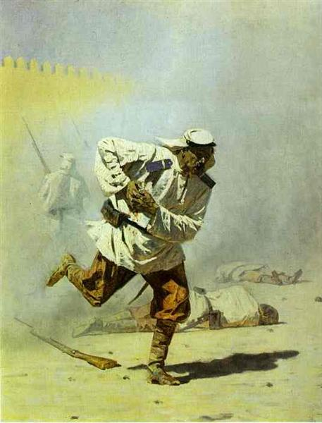 Mortally Wounded - Vasily Vereshchagin