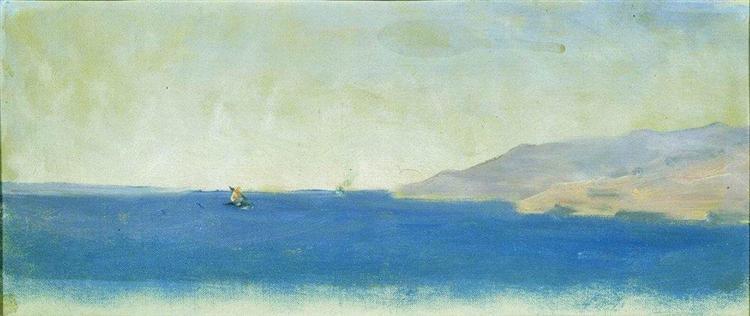Sea - Vasily Vereshchagin
