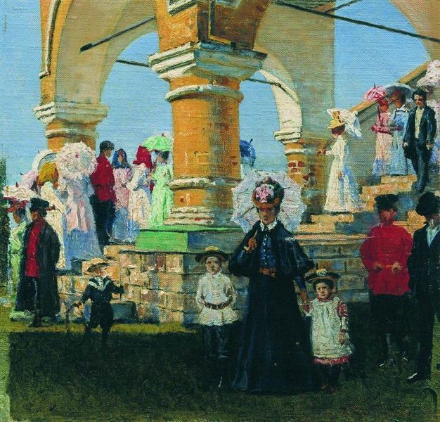 Trinity Sunday. Village Kolomna - Vasily Vereshchagin