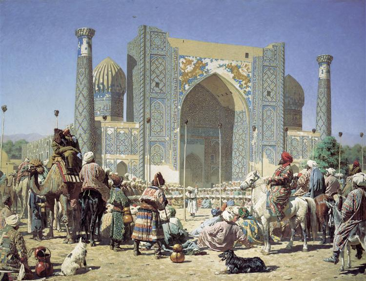 Triumph, 1872 - Vasily Vereshchagin