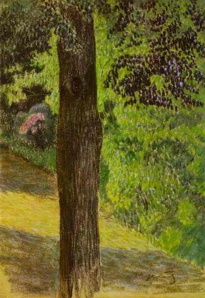 A Path in a Garden, c.1904 - Victor Borisov-Musatov