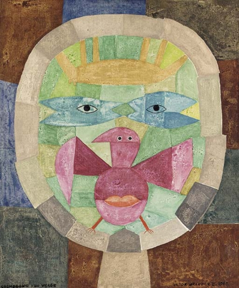 Cosmogonie d 39 un visage 1961 victor brauner - Victor brauner loup table ...
