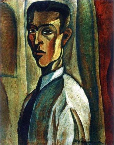 Self portrait 1923 victor brauner - Victor brauner loup table ...