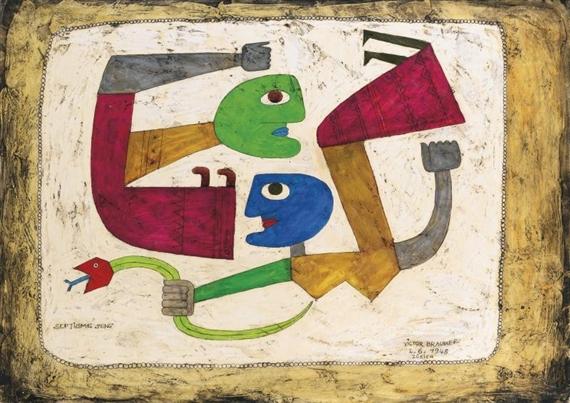 Septième sens, 1948