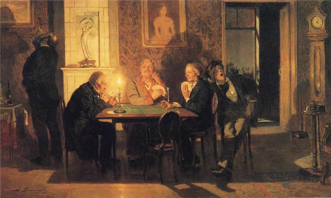 Viktor Vasnecov - Page 2 A-game-of-preference-1879