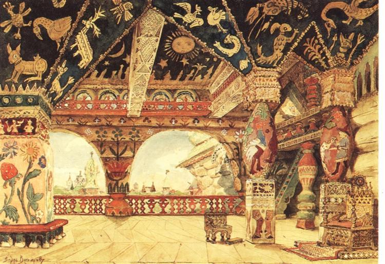 Berendei Palace - Viktor Vasnetsov