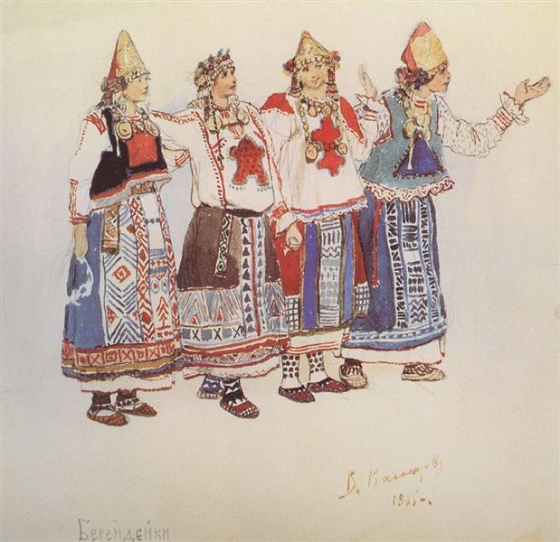 Berendeyki, 1885 - Viktor Vasnetsov