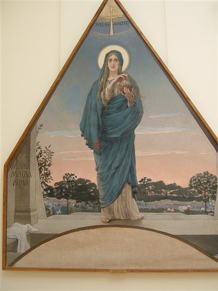 Maria Magdalene - Vasnetsov Viktor