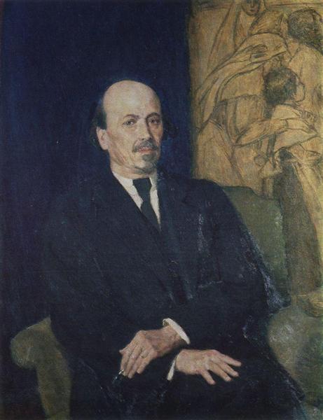 Portrait of Mikhail Nesterov, 1926 - Viktor Vasnetsov