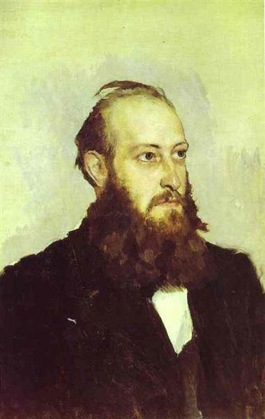 Portrait of Victor Goshkevich, the Founder of the Historic Aarchaeological Museum in Kherson, 1887 - Viktor Vasnetsov