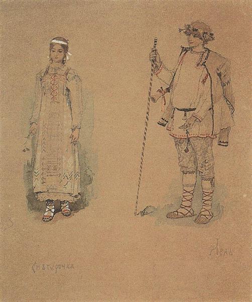 Snegurochka and Lel, 1885 - 1886 - Viktor Vasnetsov
