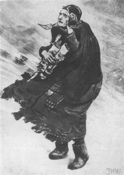 Winter - Viktor Vasnetsov