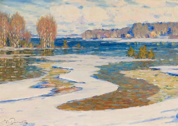 Agrs pavasaris - Vilhelms Purvitis