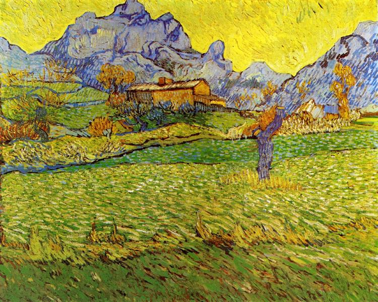 A Meadow in the Mountains, 1889 - Vincent van Gogh