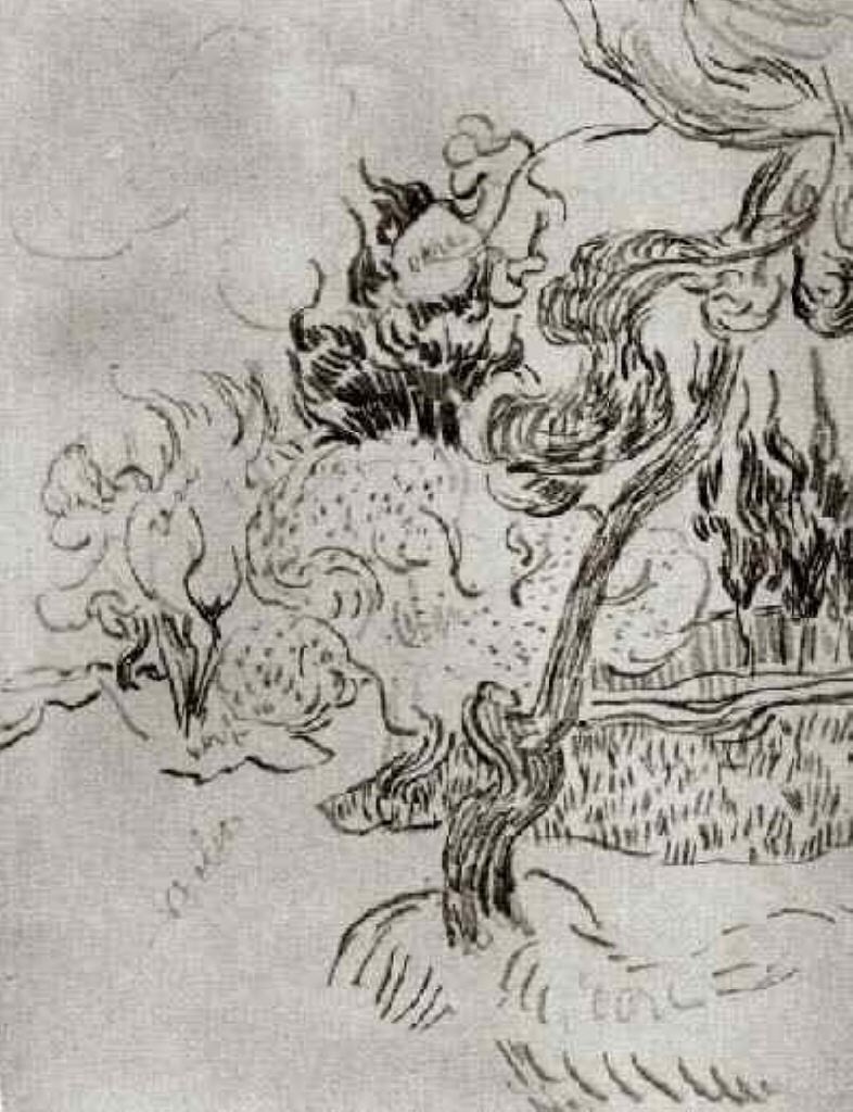 https://uploads3.wikiart.org/images/vincent-van-gogh/a-pine-tree-and-cypresses-in-the-garden-of-the-asylum-1889(1).jpg