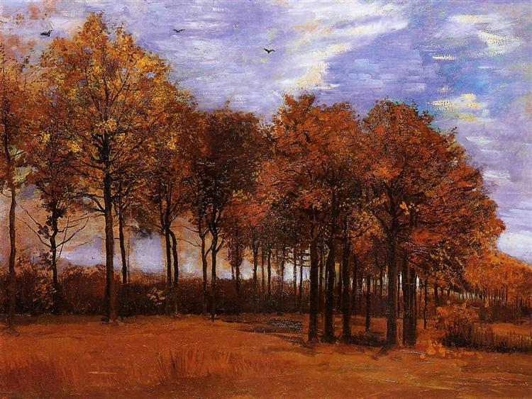 Autumn Landscape, 1885 - Vincent van Gogh
