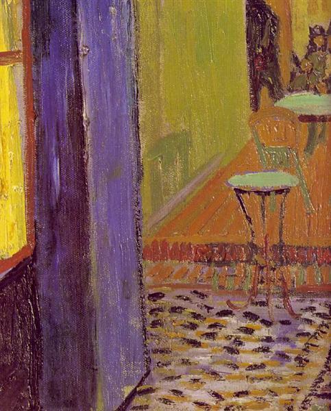 Тераса кафе на площі Форум в Арлі, 1888 - Вінсент Ван Гог