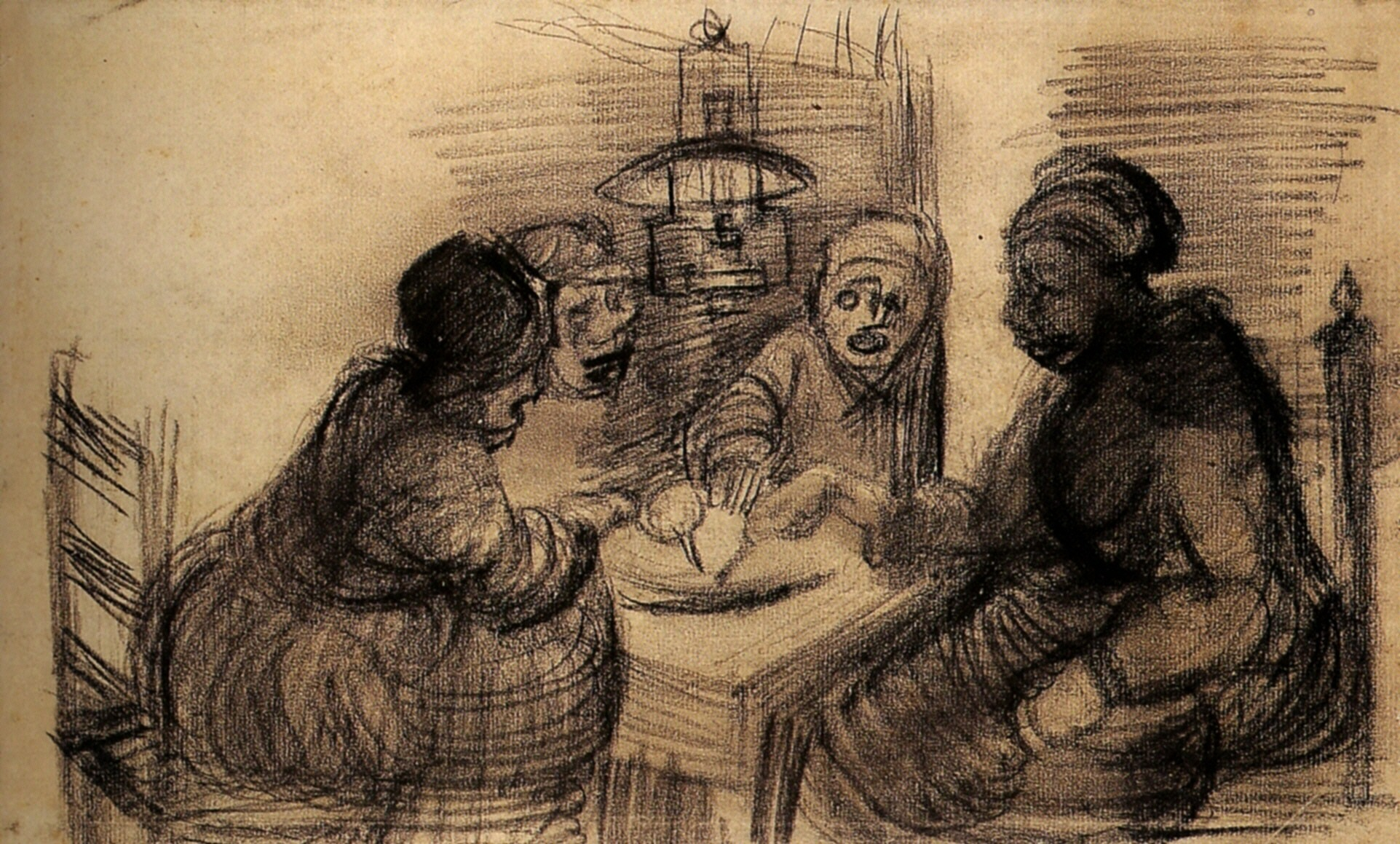 comparative analysis of two vincent van goghs paintings essay Vincent van gogh vincent  including around 860 oil paintings, most of them in the last two  he died from his injuries two days later van gogh.