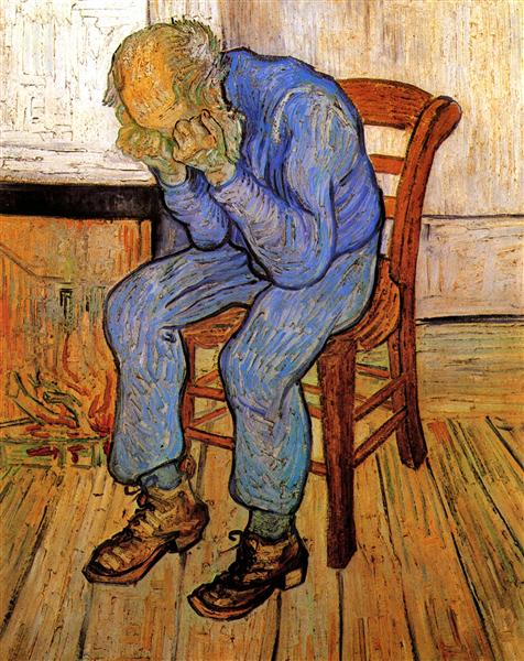 Old Man in Sorrow (On the Threshold of Eternity), 1890 - Vincent van Gogh