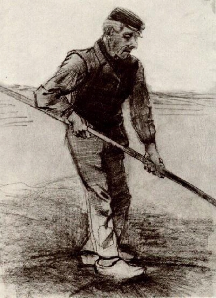 Peasant with a Stick, 1881