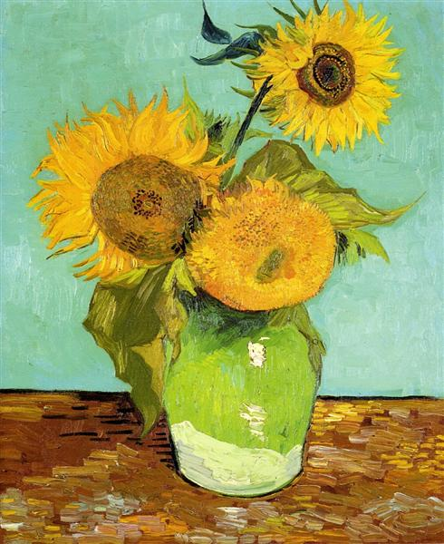 Sunflowers, 1888 - Vincent van Gogh