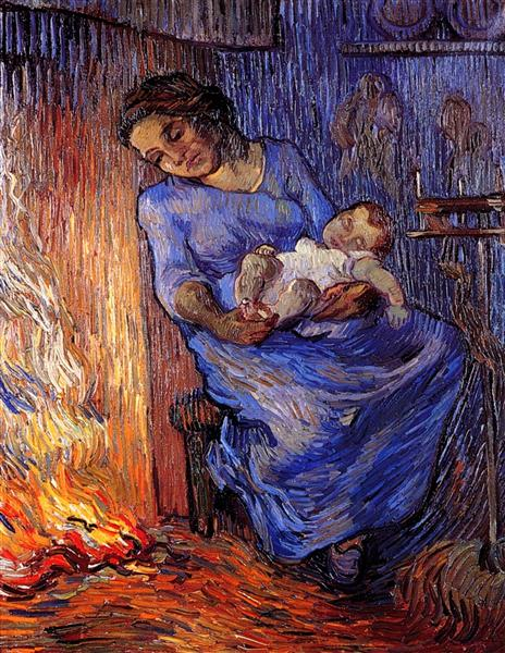The Man is at Sea (after Demont-Breton), 1889 - Vincent van Gogh