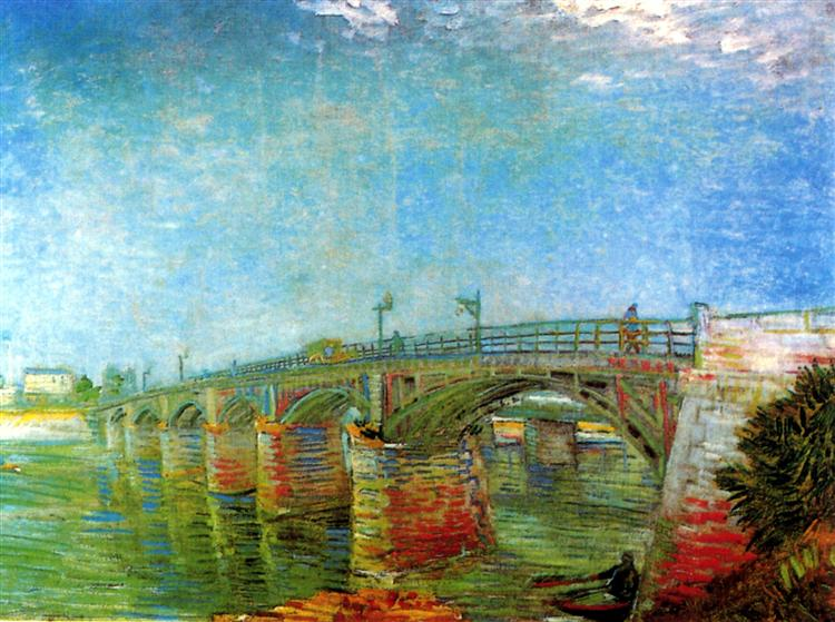 The Seine Bridge at Asnieres, 1887 - Vincent van Gogh