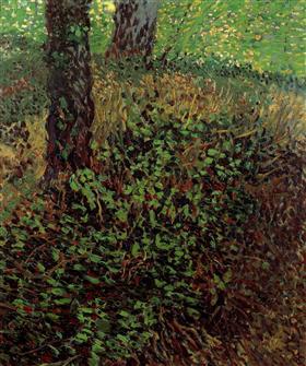 Maleza, Vincent van Gogh