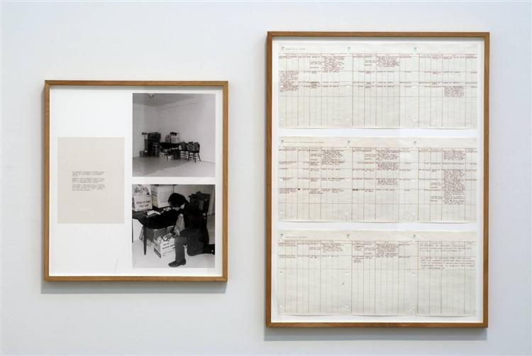 Room Situation, 1970 - Vito Acconci