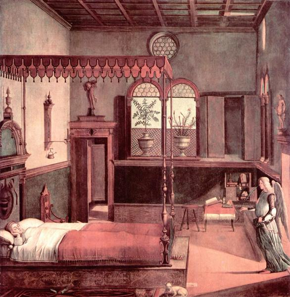 Dream of St.Ursula, 1495 - Vittore Carpaccio