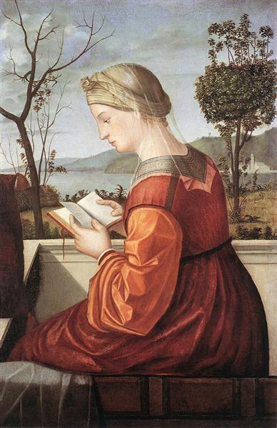 The Virgin Reading, 1510 - Vittore Carpaccio