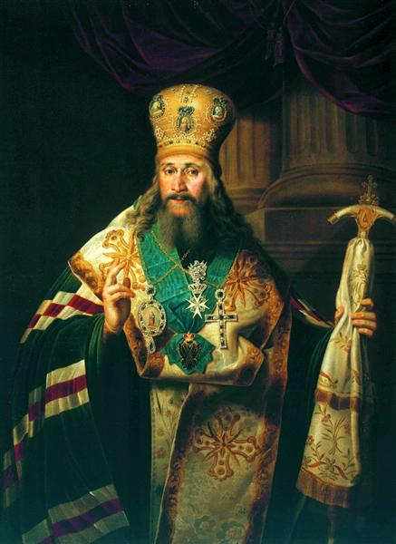 Bishop of the Russian Orthodox Church - Vladimir Borovikovsky