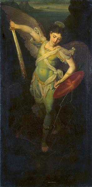 Archangel Michael, 1815 - Vladimir Borovikovsky