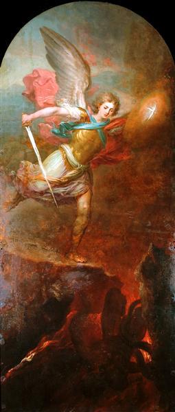 Archangel Michael, 1794 - Vladimir Borovikovsky