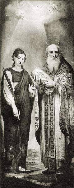 St. Juliana - Vladimir Borovikovsky