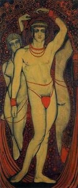 Nudism, 1914 - Vsevolod Maksymovych