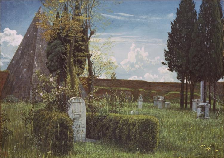 Protestant Cemetery - Walter Crane