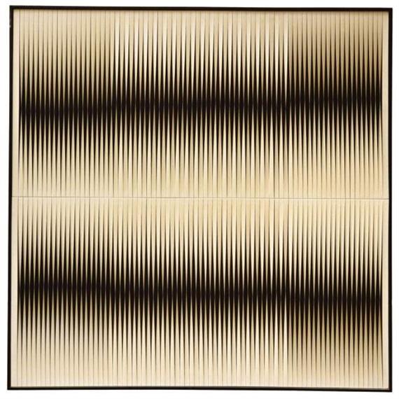 Torsions Mobilo-Static - Weiss auf Schwarz - Walter Leblanc
