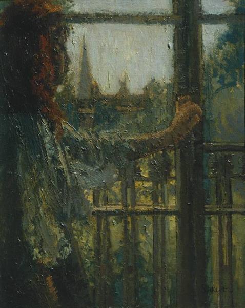 Girl at a Window, Little Rachel, 1907 - Walter Sickert