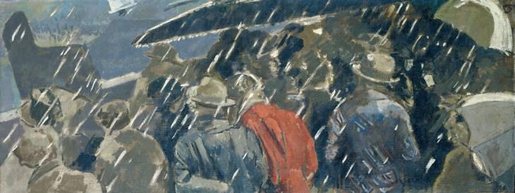 Miss Earhart's Arrival, 1932 - Walter Sickert