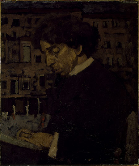 Portrait of Israel Zangwill - Walter Sickert