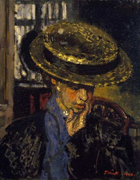 The American, 1908 - Walter Sickert