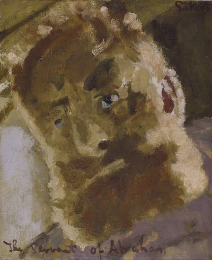 The Servant of Abraham, 1929 - Walter Sickert